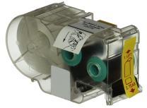 Panduit T100X000C1C-BK P1 Cassette Continuous Tape Label, Nylon Cloth, Blue/White