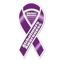 Alzheimer's Awareness 2-in-1 Ribbon Magnet