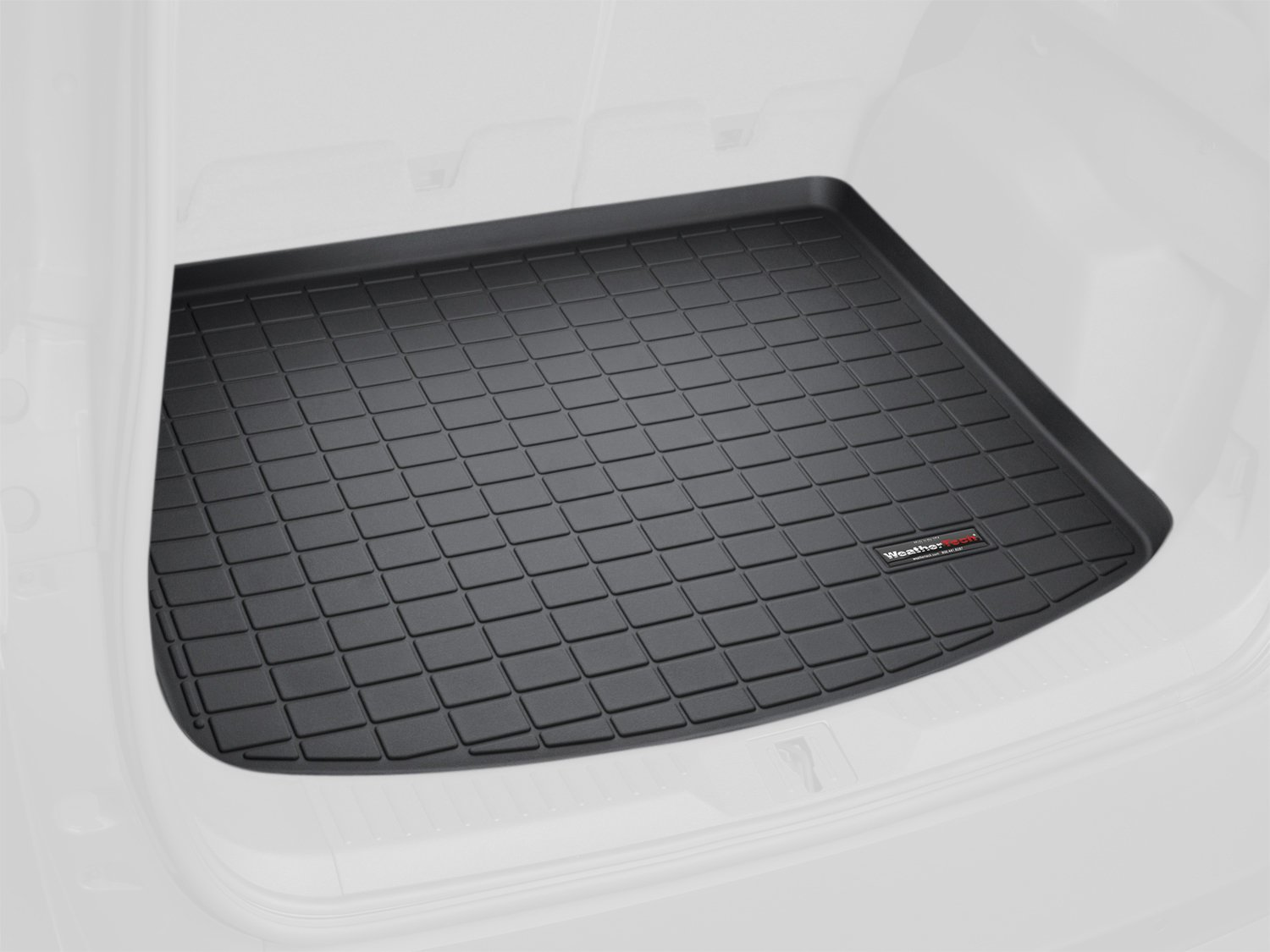 WeatherTech Custom Fit Cargo Liners for Audi A8, A8L, Black