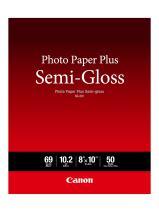 "Canon Photo Paper Plus Semi-Gloss 8"" x 10"" (50 Sheets) (SG-201 8X10)"