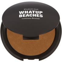 Fine, Lightweight Bronzer Powder for Face: Elizabeth Mott Whatup Beaches Facial Bronzing Powder for Contouring and Sun Kissed Coverage - Cruelty Free Makeup and Cosmetic Products - Luminous,10g