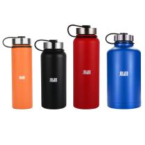 JOUDOO Wide Mouth Double Walled Vacuum Insulated Stainless Steel Sports Water Bottle - Muti-Size Options
