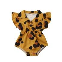 Mubineo Toddler Newborn Infant Baby Girl Ruffle Blouse Romper Summer Cute Short Jumpsuit Clothes