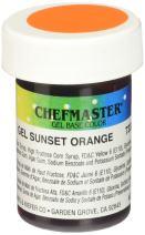 Chefmaster Gel Food Color, 1-Ounce, Sunset Orange