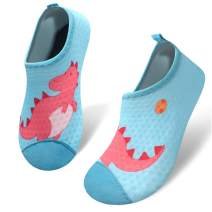 Kids Water Shoes Toddler Barefoot Aqua Socks Shoes Summer Swim Beach Pool Shark Water Socks for Boys & Girls
