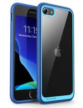 SUPCASE Unicorn Beetle Style Case Designed for iPhone SE 2nd generation/iPhone 7/iPhone 8, Premium Hybrid Protective Clear Bumper Case (Navy)