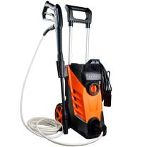 JACOOL Electric Power Washer 2180 PSI 2.4 GPM 15 AMP Portable Electric Pressure Washer - 1800W High Pressure Washer Cleaner Machine with Adjustable Nozzle, Spray Gun and Soap Bottle