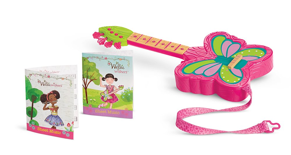 American Girl Welliewishers Strings & Wings Guitar Doll Accessories