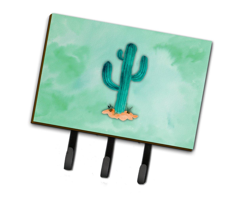 Caroline's Treasures BB7369TH68 Western Cactus Watercolor Leash or Key Holder, Triple, Multicolor