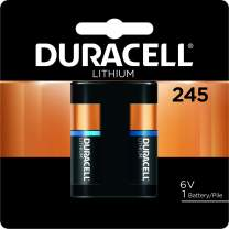 Duracell - 245 6V Ultra Lithium Photo Size Battery - long lasting battery - 1 count