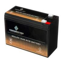 Rechargeable - 12V 10AH SLA Battery - for Electric Scooter Schwinn S180/Mongoose