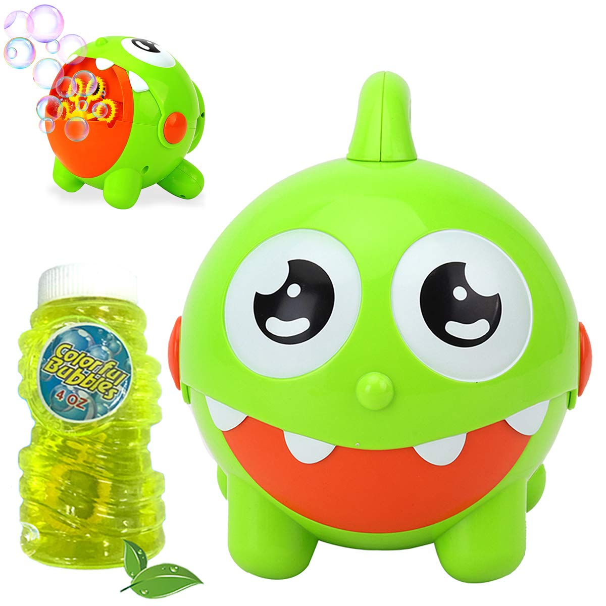 scurry Bubble Machine for Kids&Toddlers - 3000 Bubbles per Minute,Automatic Bubble Machine for Kids,Bubble Blower for Party, Outdoor & Indoor Games, Best Bubble Toy Gift for Kids,USB Charging