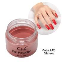 C & I Dipping Powder Color No.017 Crimson Red Color System