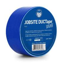 "IPG 6720BLU JobSite DUCTape, Colored Duct Tape, 1.88"" x 20 yd, Blue (Single Roll)"