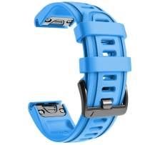 NotoCity Compatible with Fenix 6S Watch Band 20mm Sport Watch Strap for Fenix 5S / 5S Plus/Fenix 6S/Fenix 6S Pro/D2 Delta S Smartwatch(Blue)