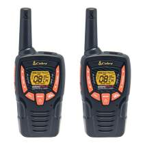 COBRA ACXT345 Walkie Talkies - Rechargeable, Long Range 25-Mile Two Way Radio Set with VOX ( 2 Pack )