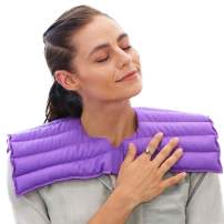 My Heating Pad Upper Body Hot/Cold Pain Relief Wrap - Purple