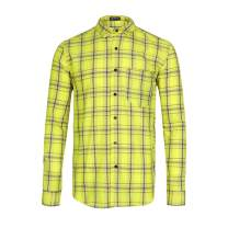 Men's Plaid Flannel Button Down Long Sleeve Work Casual Shirt