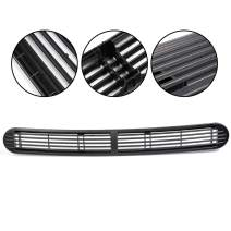 Black Truck Dash Defrost Front Vent Cover Bumper Grille Grill Panel Replacement For Chevy Blazer S10 GMC Envoy Jimmy Sonoma Oldsmobile SUV Pickup Truck OEM 15046436