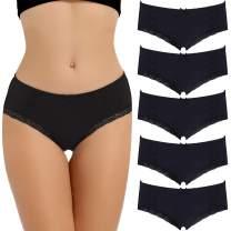 LYYTHAVON Women's Underwear Breathable Cotton Brief Ladies Panties