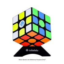 Cubelelo Gans 356 Air SM 3x3 Black Magnetic Speed Cube 3x3x3 Puzzle Cube Magic Toy