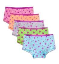 Fruit of the Loom Girls' Assorted Boyshort Underwear