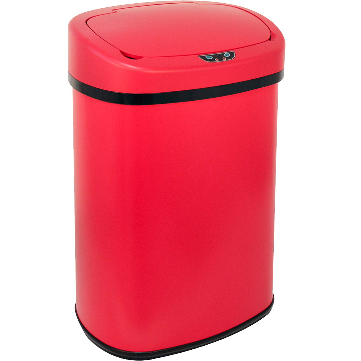 Picture of: Vnewone Kitchen Trash Can Garbage 13 Gallon Waste Bin For Home Office Bedroom Stainless Steel Automatic Touch Free High Capacity 50 Liter