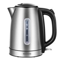 REDMOND Electric Kettle, 1.7L Stainless Steel Tea Kettle with 1500W Fast Boiling, Cordless Hot Water Kettle BPA-Free with Auto Shut-Off & Boil Dry Protection, EK005
