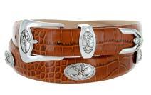 BC3109- Italian Calfskin Leather Designer Golf and Dress Belt For Men