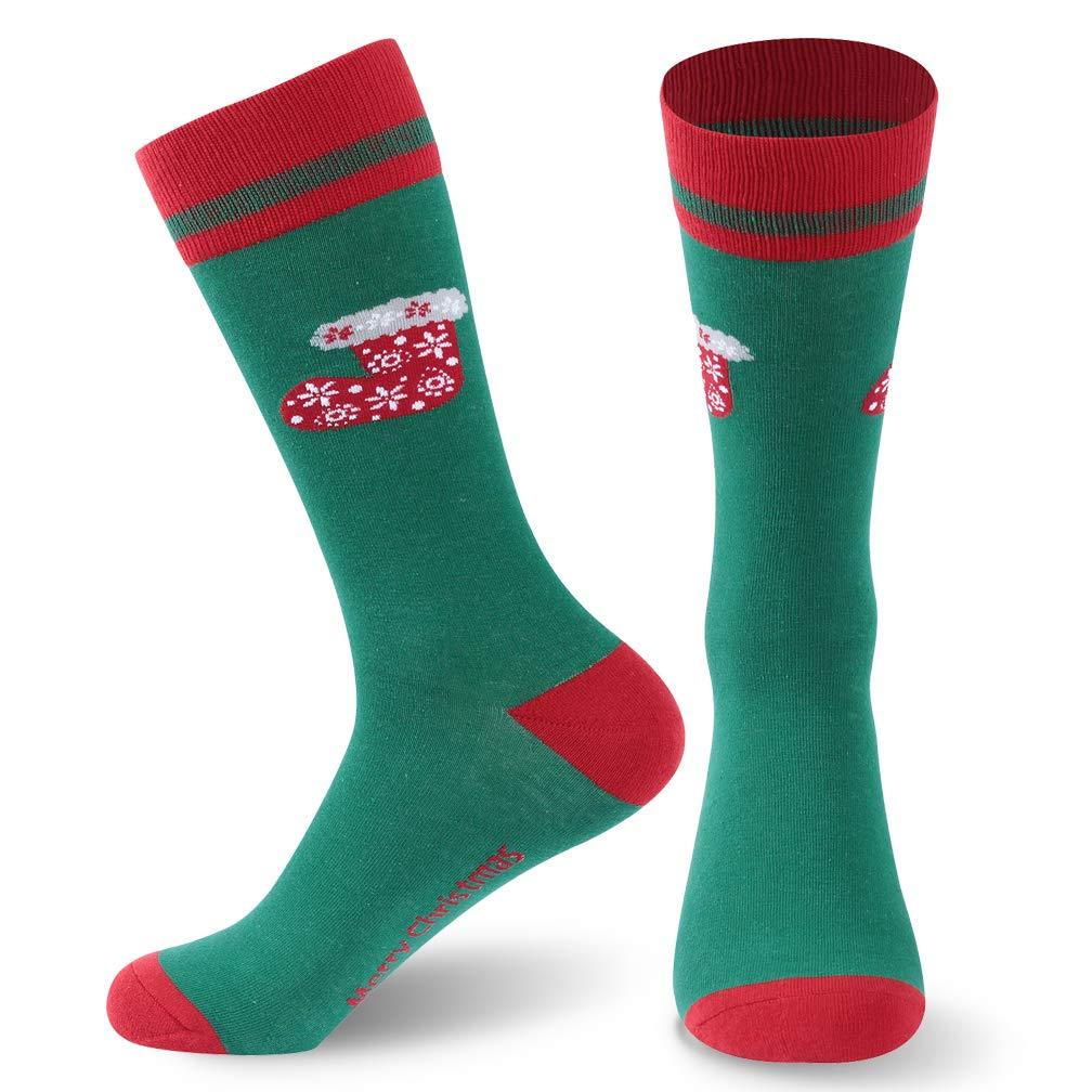 Christmas Socks, saillsen Holiday Colorful Novelty Cartoon Crew Socks Xmas Gift