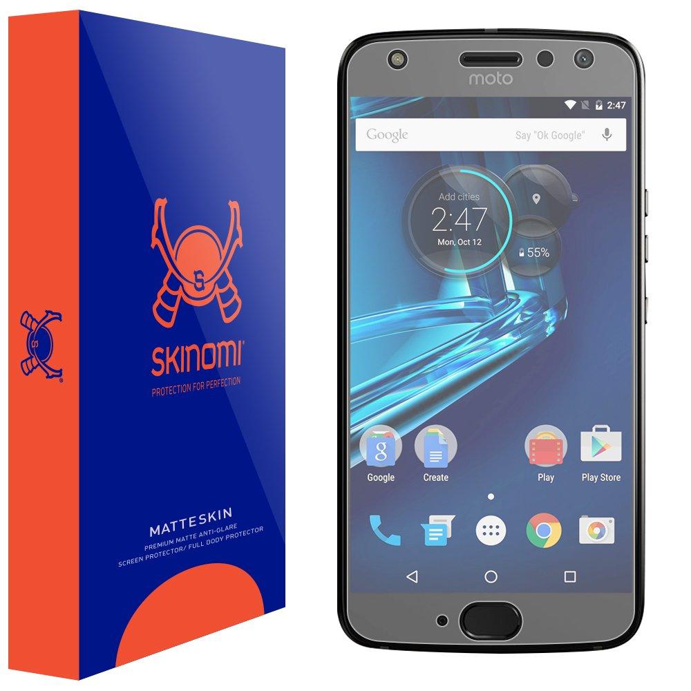 Skinomi Matte Screen Protector Compatible with Motorola Moto X4 (4th Generation, 2017) Anti-Glare Matte Skin TPU Anti-Bubble Film