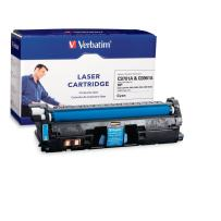 Verbatim Remanufactured Toner Cartridge Replacement for HP C9701A (Cyan)