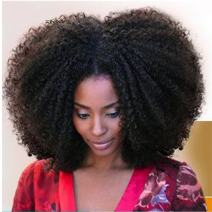 7A Afro Kinky Curly 4B 4C Human Hair Extensions for Black Women Real Brazilian Virgin Human Hair Natural Color 3pcs/pack 300g Human Hair Tissage (14 14 14)