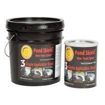 Pond Armor SKU-GRAY-3GA Non-Toxic Pond Shield Epoxy Paint, 3-Gallon, Gray
