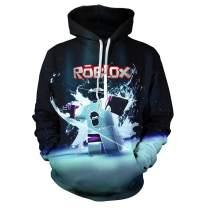 Teen Boy Girls Hoodie Fashion Hoodie Sport Game Long-Sleeved Sweatshirt