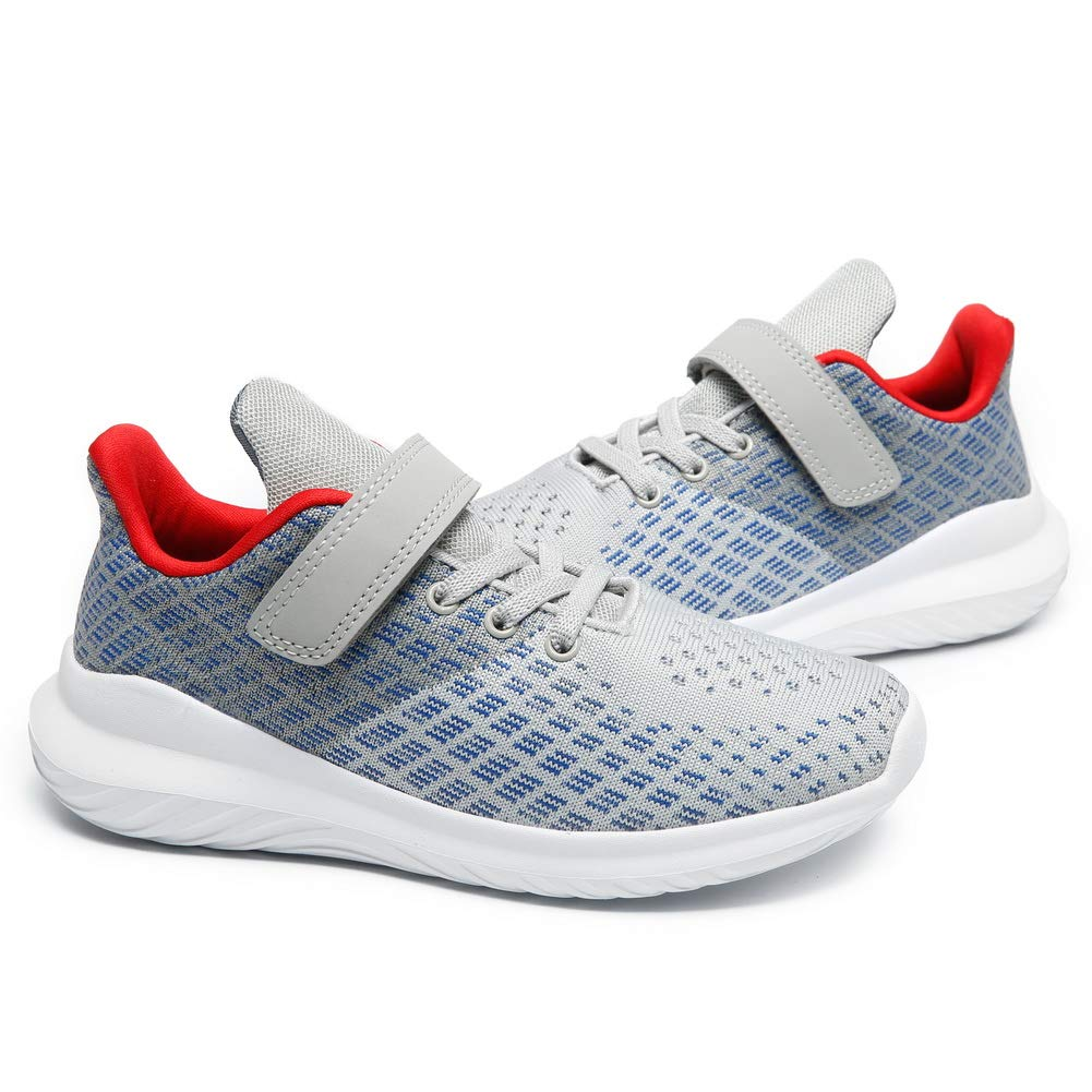 Boys Walking Shoes Girls Running Shoes Kids Sneakers Lightweight Breathable Athletic Tennis