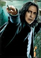 """Ata-Boy Harry Potter Snape with Wand 2.5"""" x 3.5"""" Magnet for Refrigerators and Lockers"""