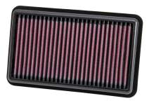 K&N Engine Air Filter: High Performance, Premium, Washable, Replacement Filter: 2011-2017 HYUNDAI/KIA (Picanto, i10), 33-3000