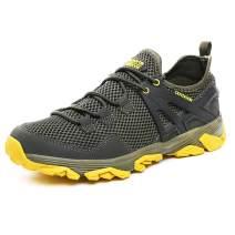 Idea Frames Men Hiking Shoes Lightweight Non-Slip Outdoor Sneaker for Walking Trekking Camping Trail Running Shoe