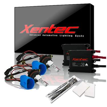 12000K HID xenon bulb x 1 pair bundle with 35W Digital Slim Ballast x 2 Xentec 880 Blue Violet 881//889
