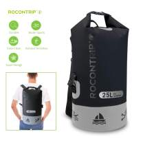 ROCONTRIP Waterproof Dry Bag Dry Sack 10L/25L/40L, Lightweight Waterproof Backpack for Kayaking, Beach, Rafting, Boating, Hiking, Camping and Fishing