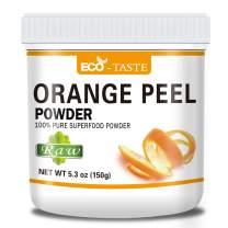 100% Pure Orange Peel Powder, 5.3 oz (150g), Pure and Raw, Good Sources of Antioxidants and Vitamin, No Fillers, No Gmo, Vegan Friendly (5.3 oz)