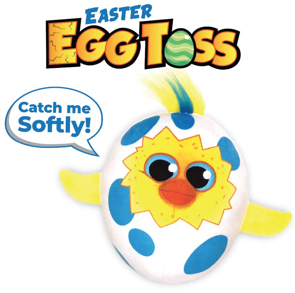 """Easter Egg Toss Toy, The Easter Gift for Kids and Toddlers That Will """"Crack"""" You Up"""