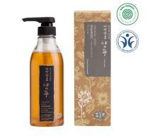Whamisa Organic Seeds Mild Acidic Hair Shampoo for Dry Hair with Scalp, Itchy, Dandruff   Moisturizing, Hydration, Gloss, Shine 16.91 fl. oz,   Sulfate-Free, Natural Pregnancy Safe Vegan Shampoo