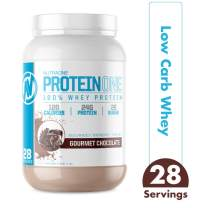 ProteinOne Whey Protein Powder by NutraOne – Non-GMO and Amino Acid Free Protein Powder (Gourmet Chocolate - 2 lbs.)