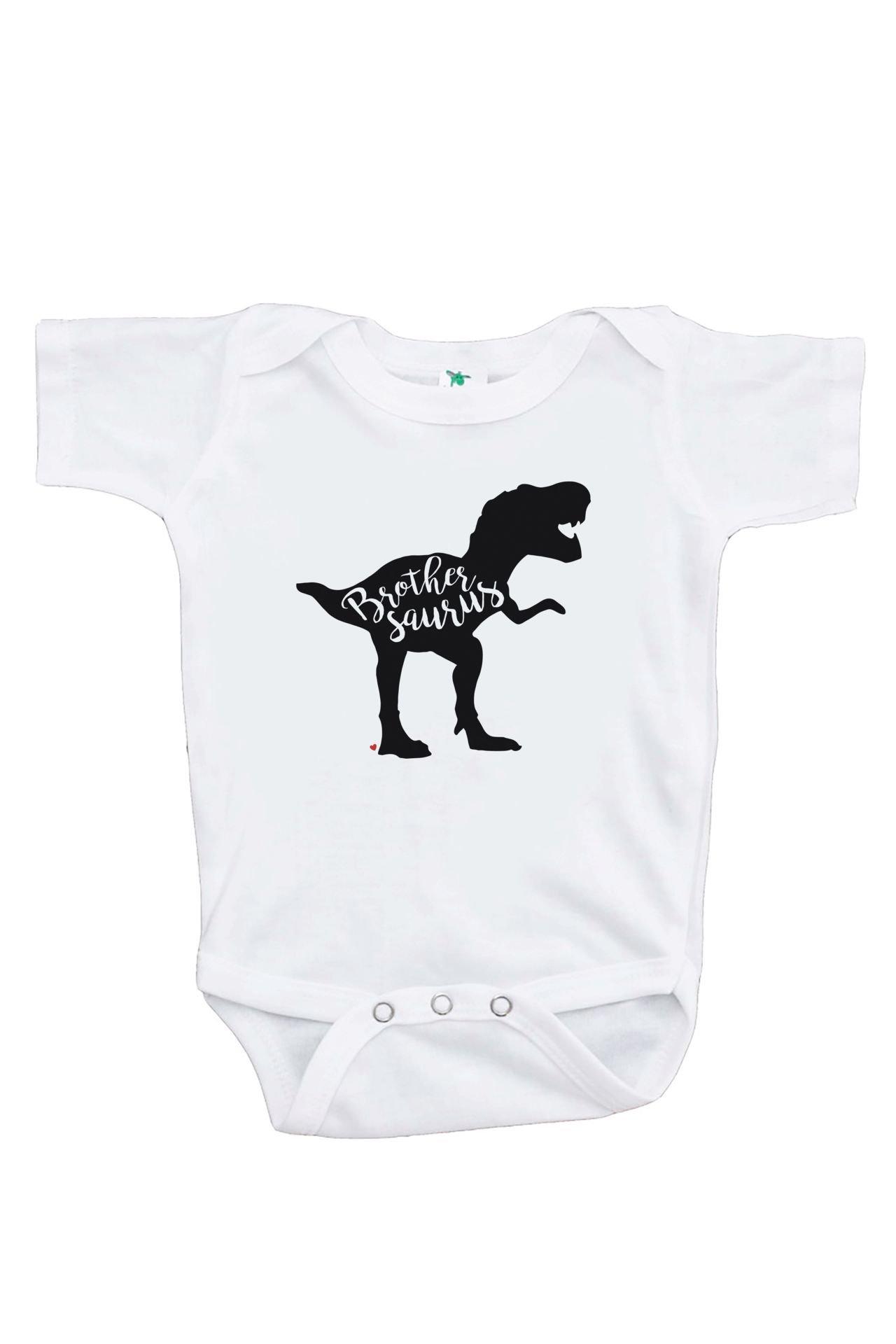 7 ate 9 Apparel Baby's Dinosaur Brothersaurus Onepiece