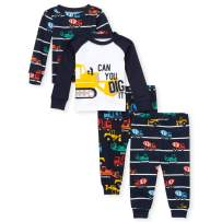 The Children's Place Baby Boys Construction Pajama Set