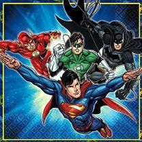 Justice League Luncheon Napkins, Party Favor