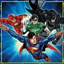 Justice League Luncheon Napkins, Party Favor
