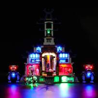BRIKSMAX Led Lighting Kit for Temple Ultimate Ultimate Weapon - Compatible with Lego Ninjago 70617 Building Blocks Model- Not Include The Lego Set